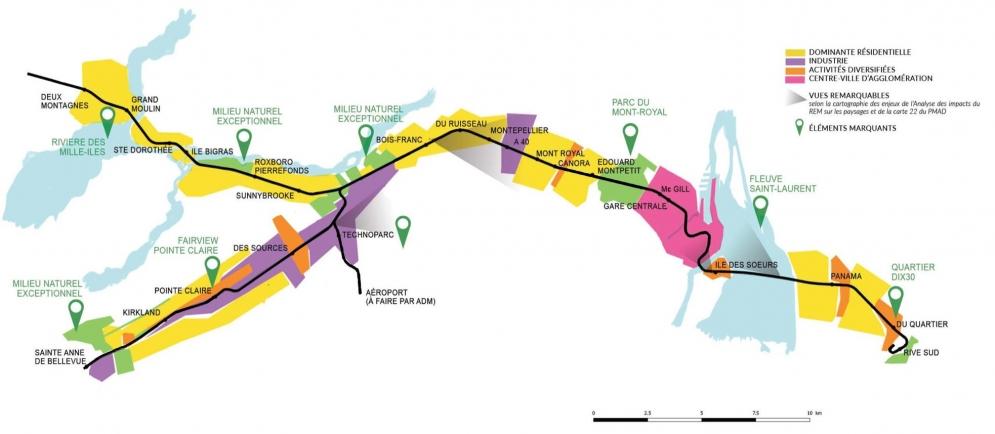 Carte zone résidentielles