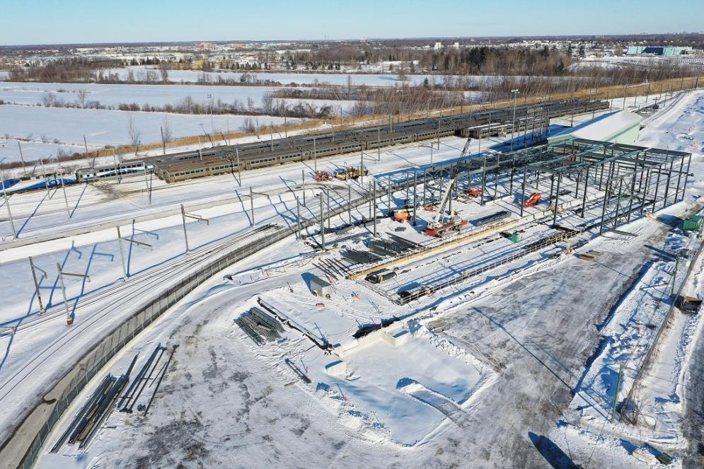 Centre de maintenance à Saint-Eustache - Janvier 2019