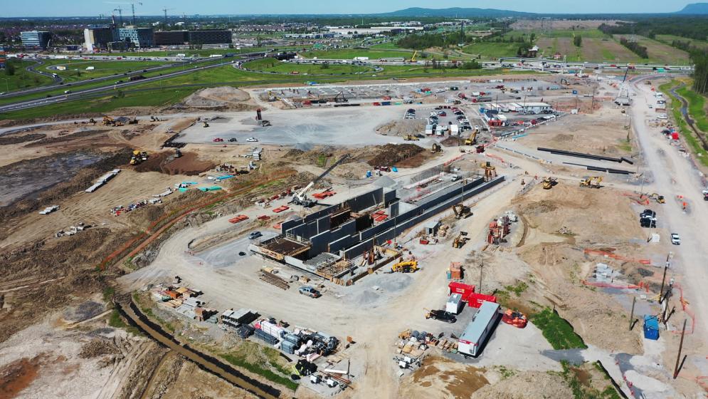 Station terminale Rive-Sud - Juin 2019