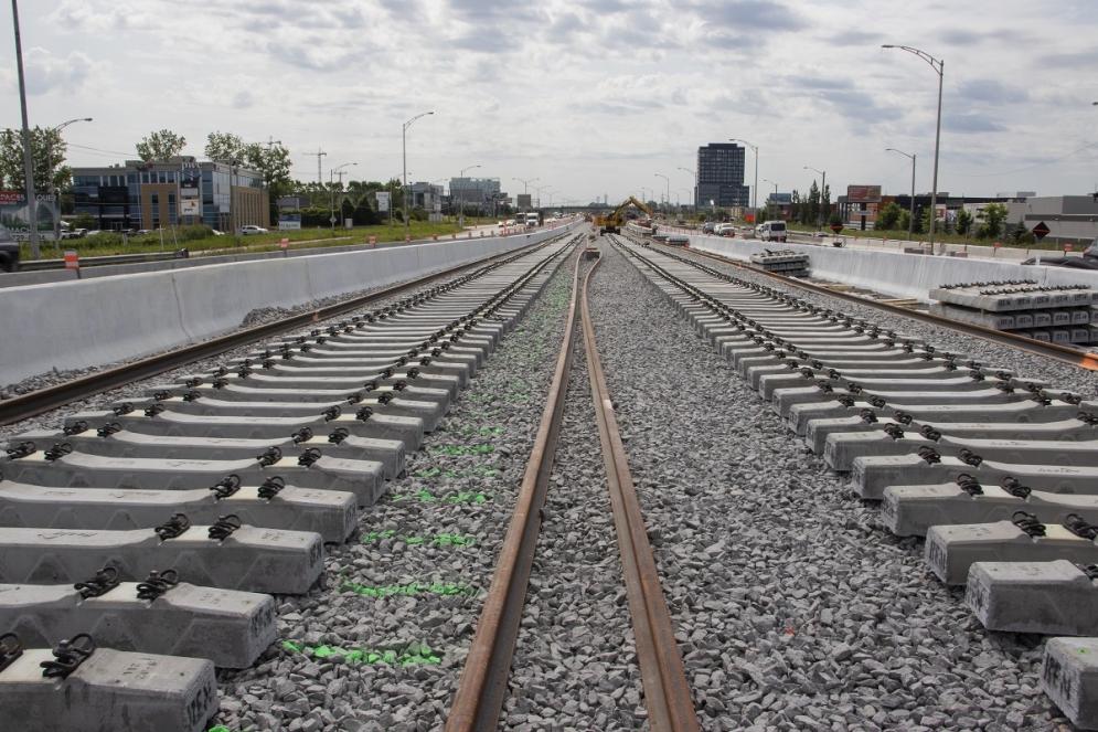 Installation des rails - Juillet 2019