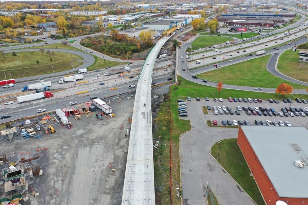 Traversée de l'autoroute 40 par Marie - Octobre 2019