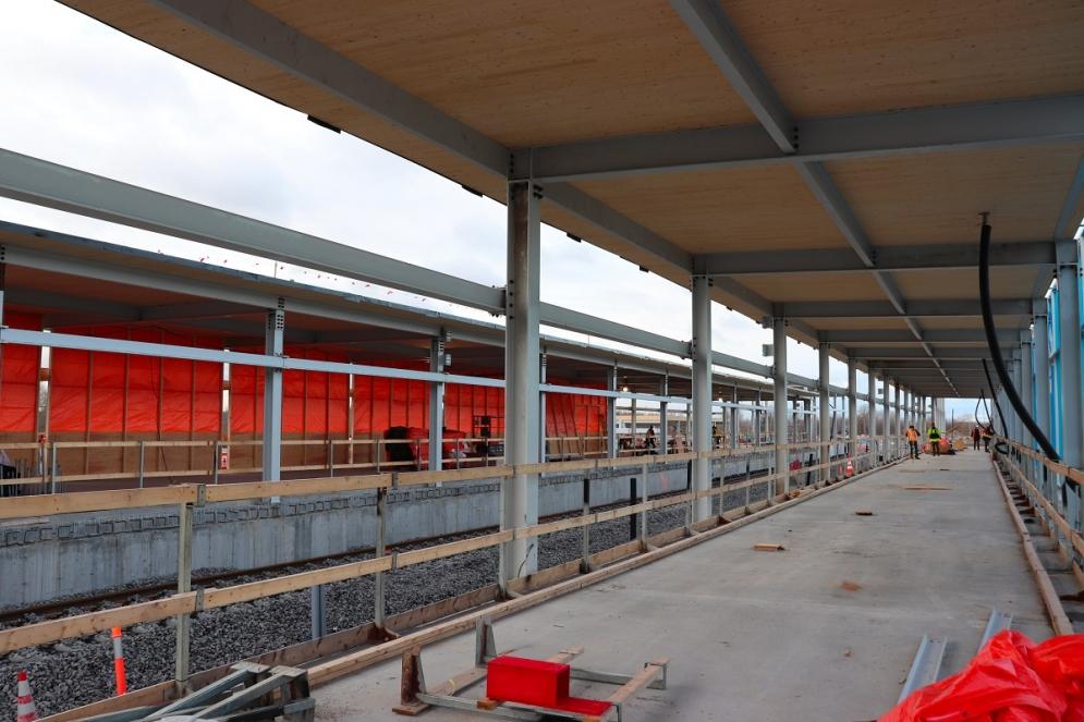 Station terminale Rive-Sud - Novembre 2019