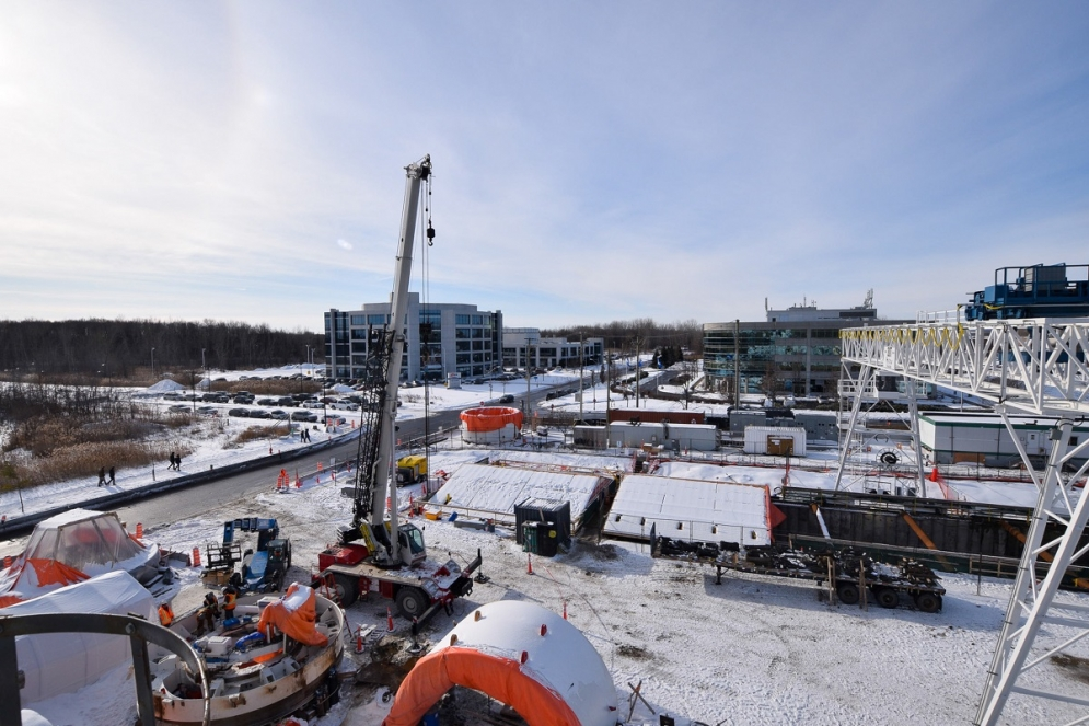 Chantier Technoparc - Janvier 2020