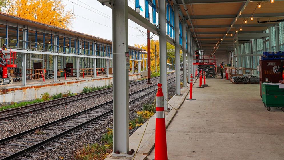 Station Bois-Franc - Octobre 2020