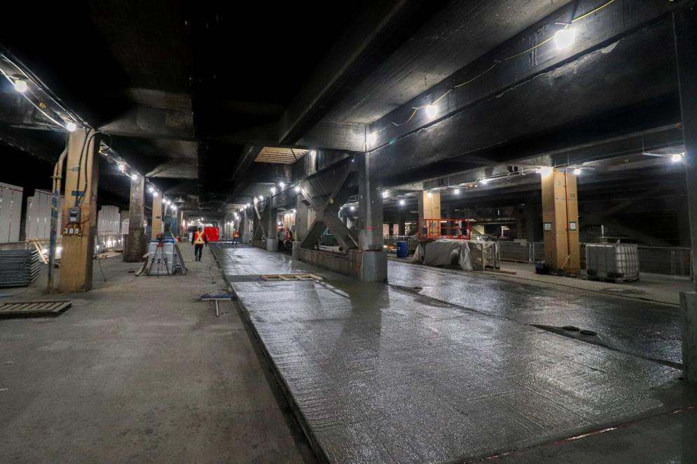 Gare Centrale - Janvier 2021