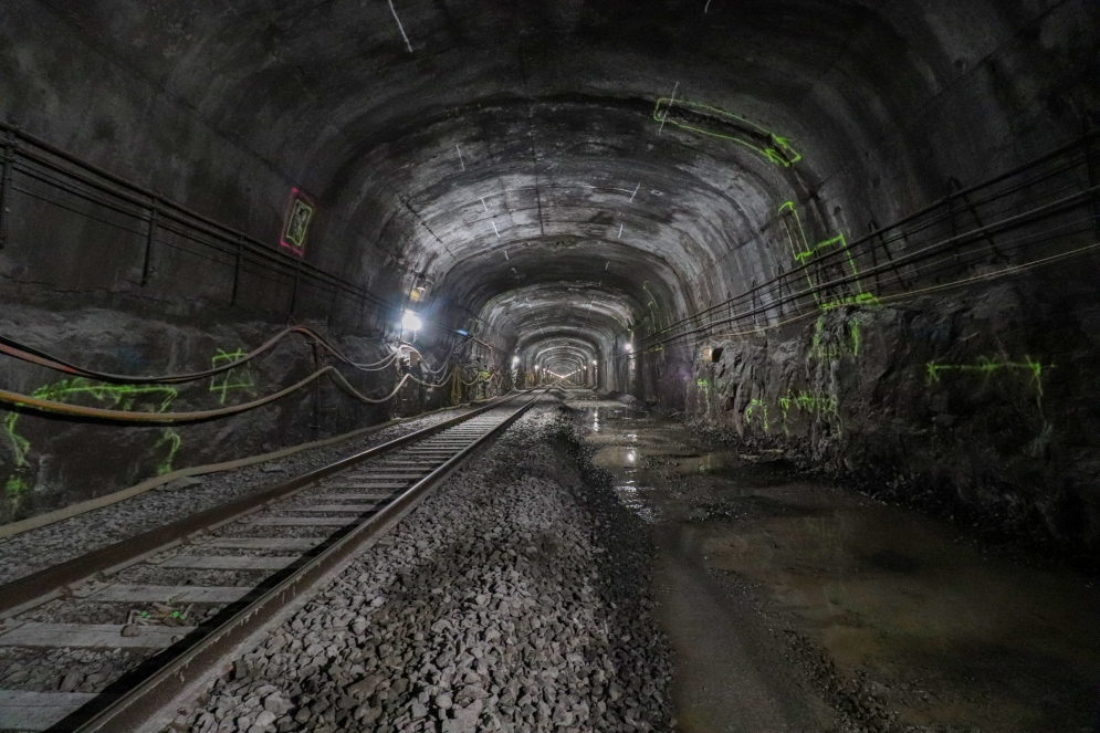 Mont-Royal tunnel - January 2021