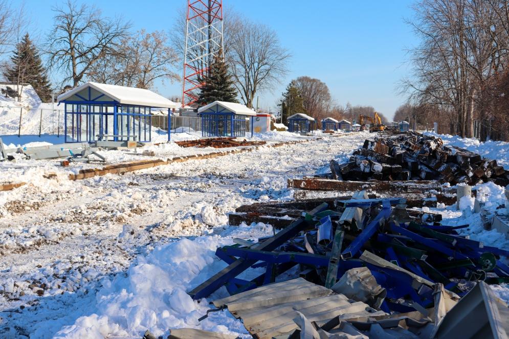 Station Pierrefonds-Roxboro - Février 2021