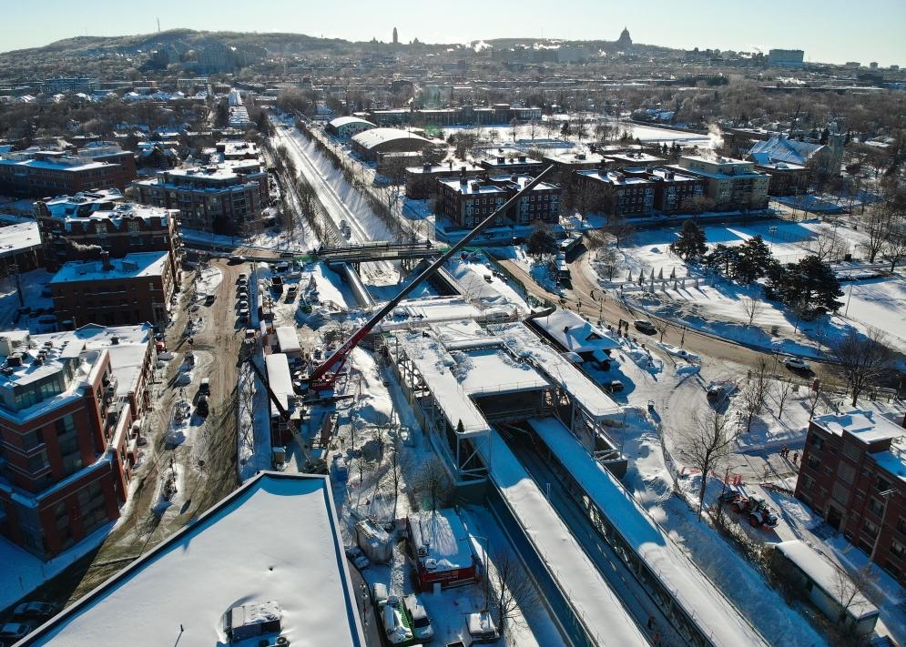Station Mont-Royal - Février 2021