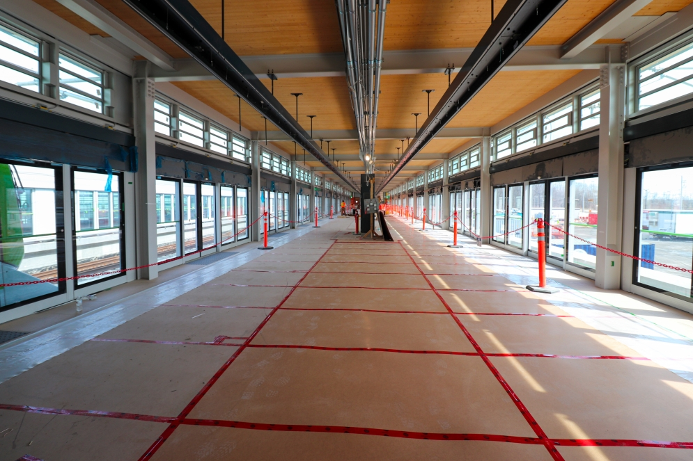 Station Brossard - Mars 2021