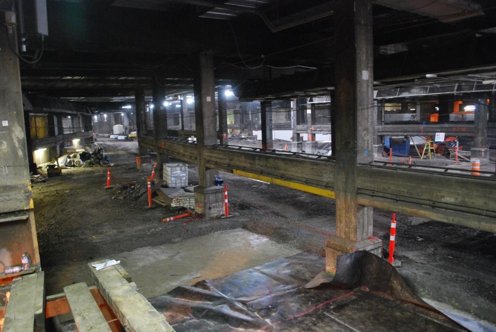 Gare centrale - Mai 2021