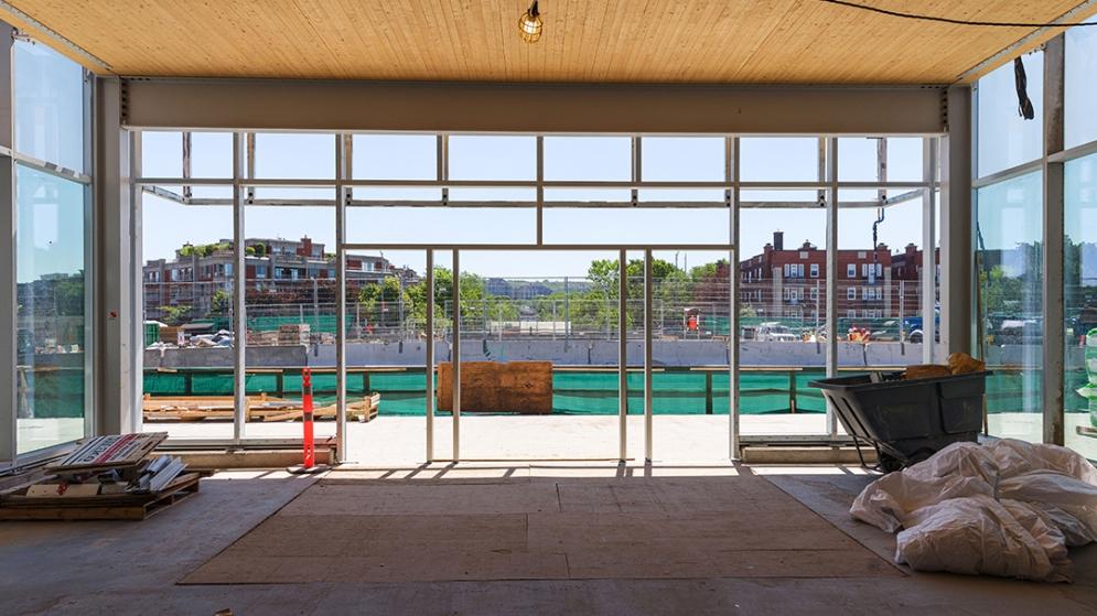 Station Ville-de-Mont-Royal - Juillet 2021
