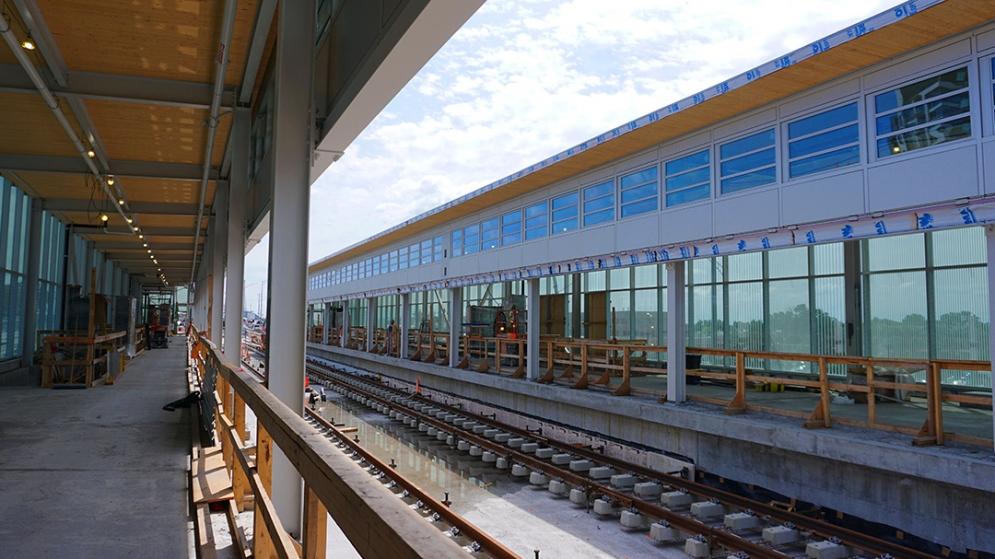 Station Île-des-Soeurs - Juillet 2021