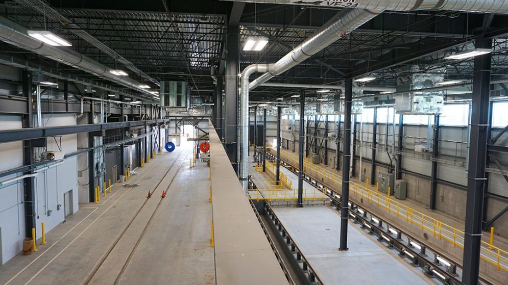 Centre de maintenance à Saint-Eustache - Juillet 2021
