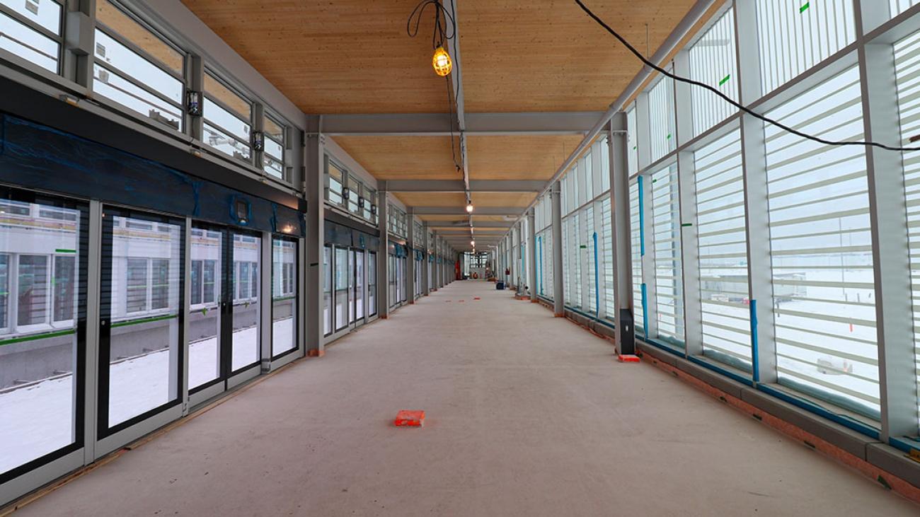 Station Brossard - Janvier 2021