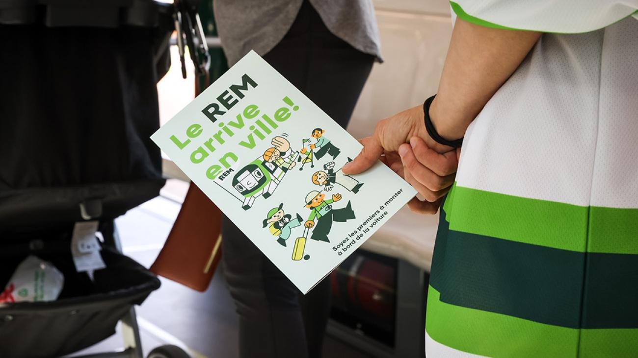 Photo de l'événement « Le REM arrive en ville » par JF Savaria