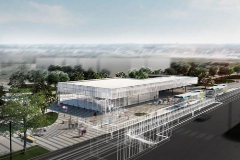 On présente la future station Technoparc
